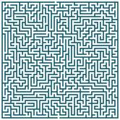 Maze pattern — Stock Vector