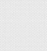 Fabrication hexagonale — Vecteur