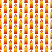 Candles pattern — Stock Vector
