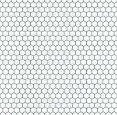 Hexagonal pattern — Stock Vector