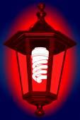 Red light — Stock Vector