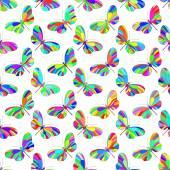 Butterfly pattern — Vector de stock