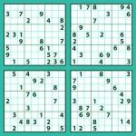Sudoku puzzles — Stock Vector #58412269