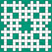 Crossword puzzle pattern — ストックベクタ