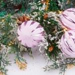 Christmas balls — Stock Photo #58904267