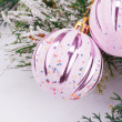 Christmas balls — Stock Photo #58908359
