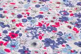 Barevné textilie — Stock fotografie