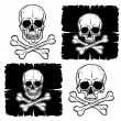 Set of Skull and Crossbones — Stock Vector #62176167