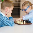 Cute children playing at home — Stock Photo #59106579