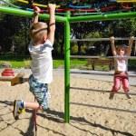 Children at playground — Stock Photo #63817289