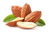 Almonds kernel — Stock Photo
