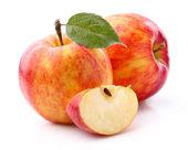 Sweet apples in closeup — Stock Photo