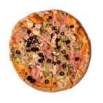Top view of tasty Italian pizza — Stock Photo #68954059