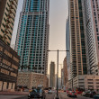 Постер, плакат: Modern buildings in Dubai UAE