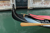 Gondola on the canals of Venice — Stock Photo