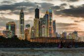 Dubai Marina. United Arab Emirates — 图库照片