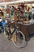 Flea market in Rimini, Italy — Photo