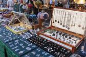 Flea market in Rimini, Italy — Stock Photo