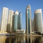Modern buildings in Dubai Marina — Stock Photo #53050821