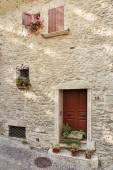 Facade of Italian home — Stock Photo
