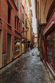 Streets Bologna ,Italy — Stock Photo