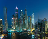 General view of Dubai Marina — Stock Photo
