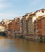 Embankment  in Florence Italy — Stockfoto