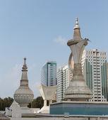 Grand Monument of the Al-Ittihad Square — Stock Photo