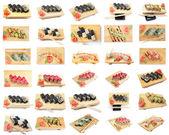 Set Asian food sushi — Stock Photo