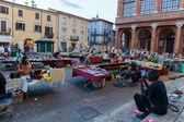 Flea market in Rimini, Italy — Stockfoto