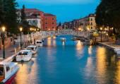 Canal em veneza — Foto Stock