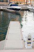 Pier voor boten — Stockfoto