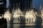 Fountains in Dubai — Stock Photo