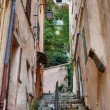 Narrow old street in old town Cannes — Stock Photo #58051325