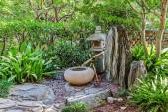 Japanese garden in Monte Carlo — Stock Photo