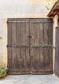 旧木门 — 图库照片