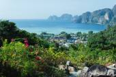 View of the island in Thailand — Stock fotografie