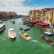 Grand Canal in Venice Italy — Stock Photo #58781557