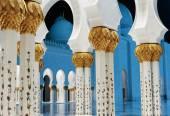 Meczet szejka zayeda — Zdjęcie stockowe