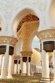 Sheikh zayed moskee, abu dhabi, verenigde arabische emiraten — Stockfoto