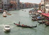 Canal grande in venetië italië — Stockfoto
