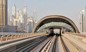 Metro u-bahn-gleise — Stockfoto