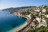 Panoramic view of Cote d'Azur — Stockfoto