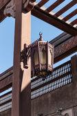 Traditional Arabic streetlight — Stock Photo
