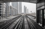 Metra ve spojených arabských emirátech — Stock fotografie