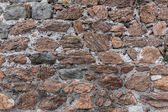 Wall of the large masonry — Foto Stock
