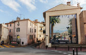 Wall-painting in Cannes — Stockfoto