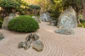 Japanese garden in Monte Carlo — Stock Photo
