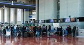Interior Cote dAzur Airport — Stock Photo