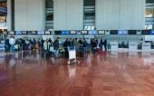 Interior Cote dAzur Airport — Zdjęcie stockowe